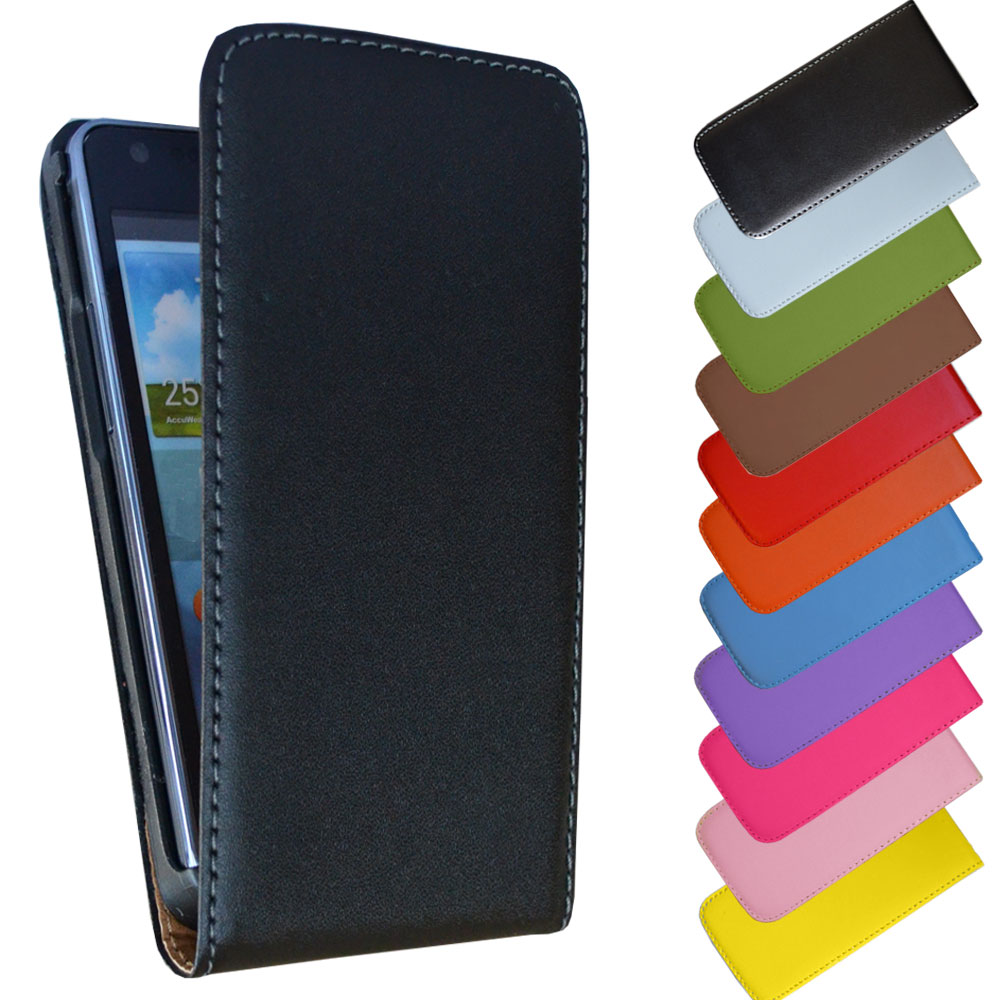 Ledertasche-fuer-iPhone-Samsung-Sony-HTC-LG-Nokia-Handy-Tasche-Flip-Case-Cover