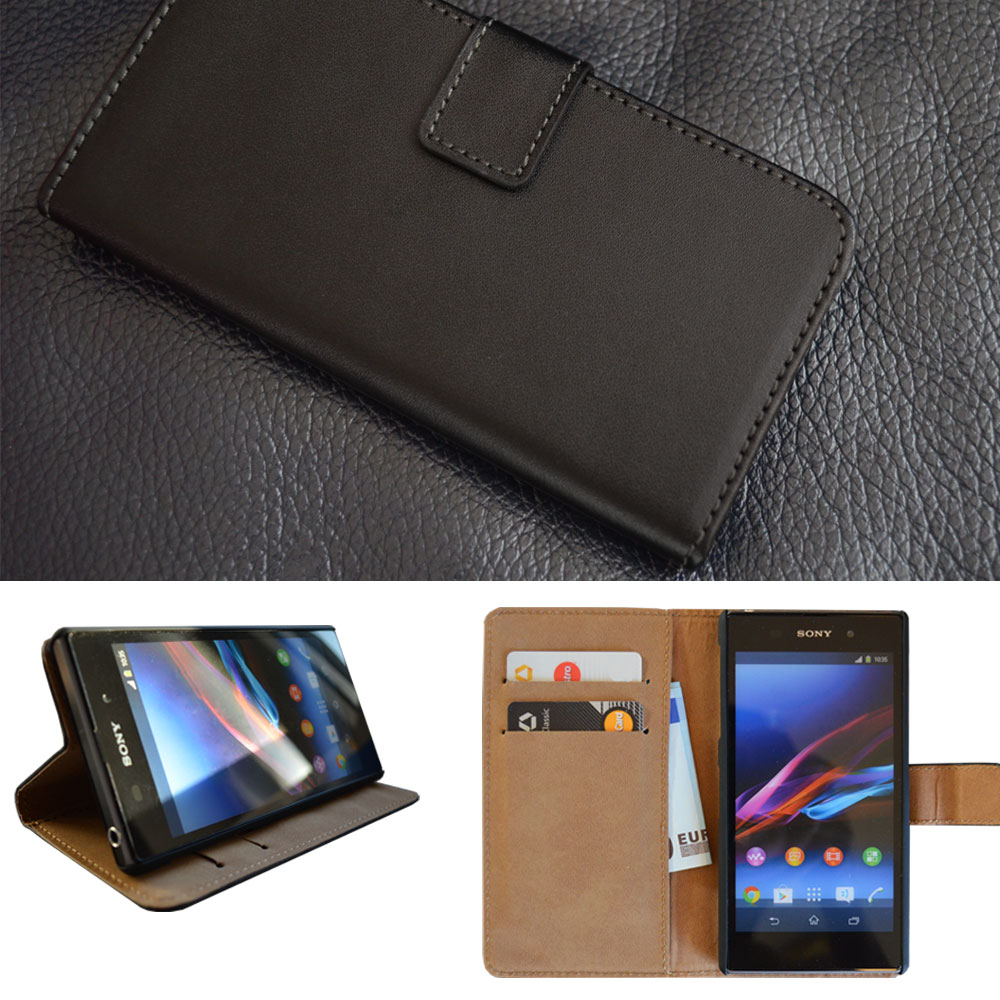 Brieftasche-Handy-Tasche-fuer-Sony-Apple-iPhone-Flip-Case-Schutz-Huelle-Cover-Etui