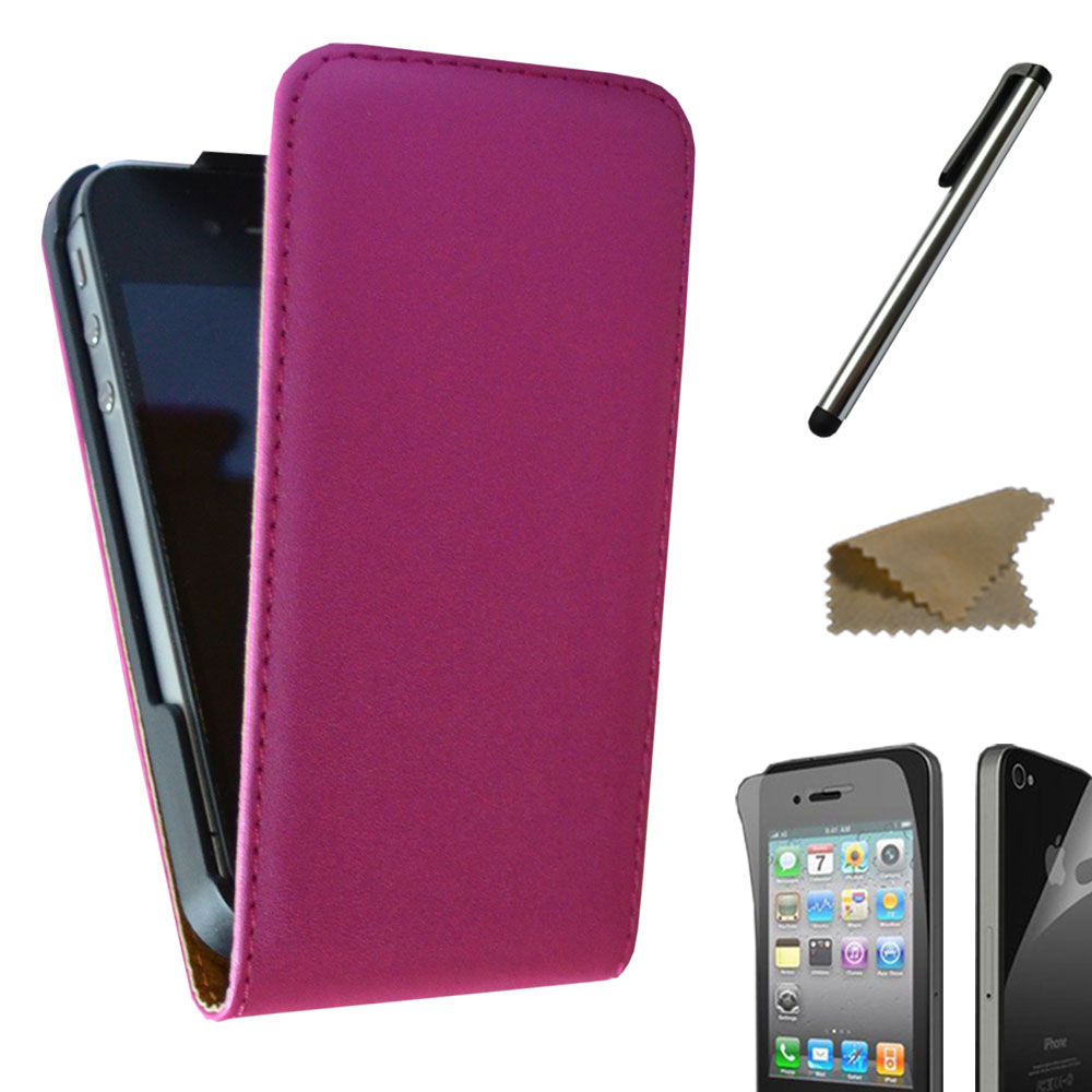 Handy-Tasche-fuer-Apple-iPhone-Flip-Case-Schutz-Huelle-Cover-Etui