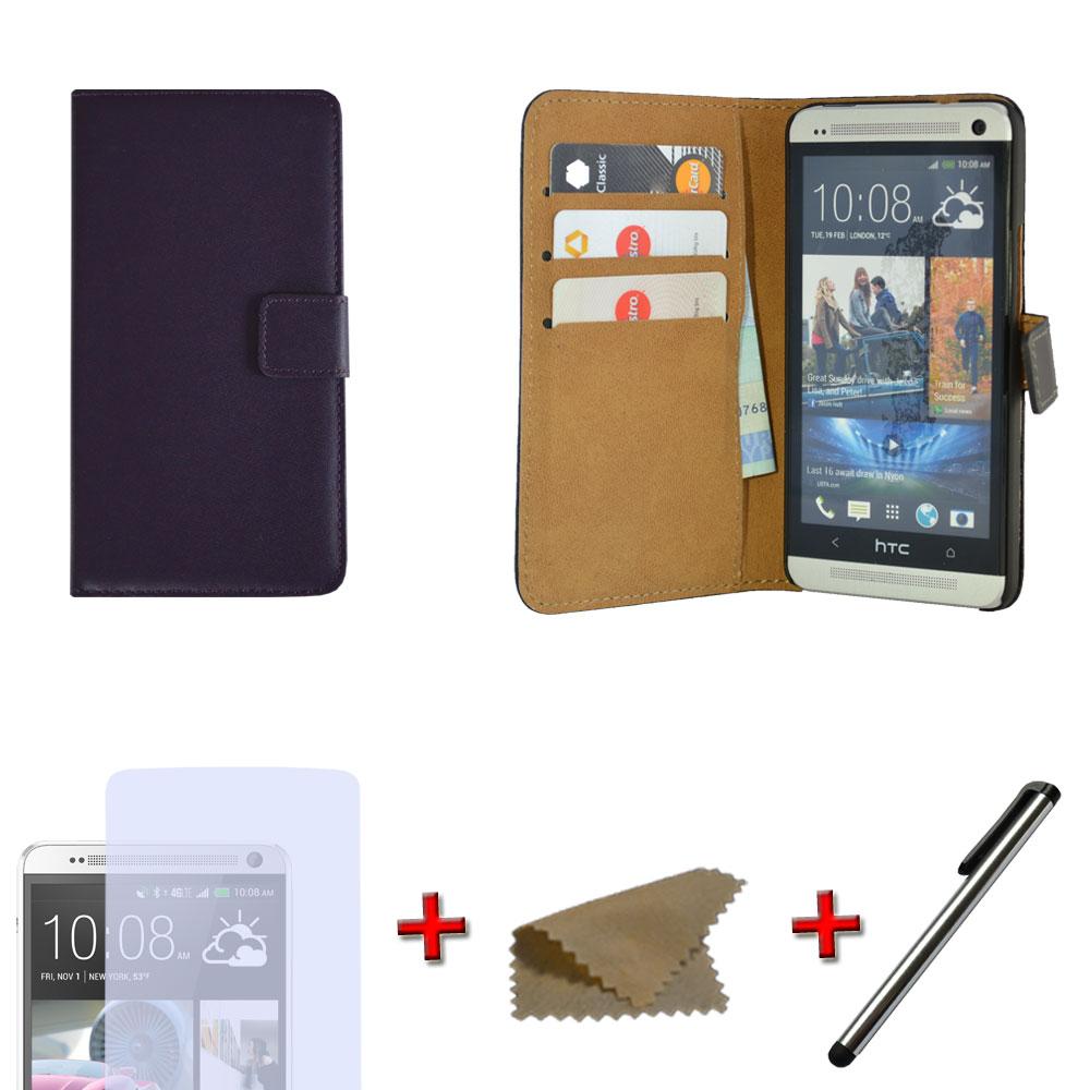 Brieftasche-Handy-Tasche-Flip-Case-Schutz-Huelle-Cover-fuer-verschiedene-Modelle