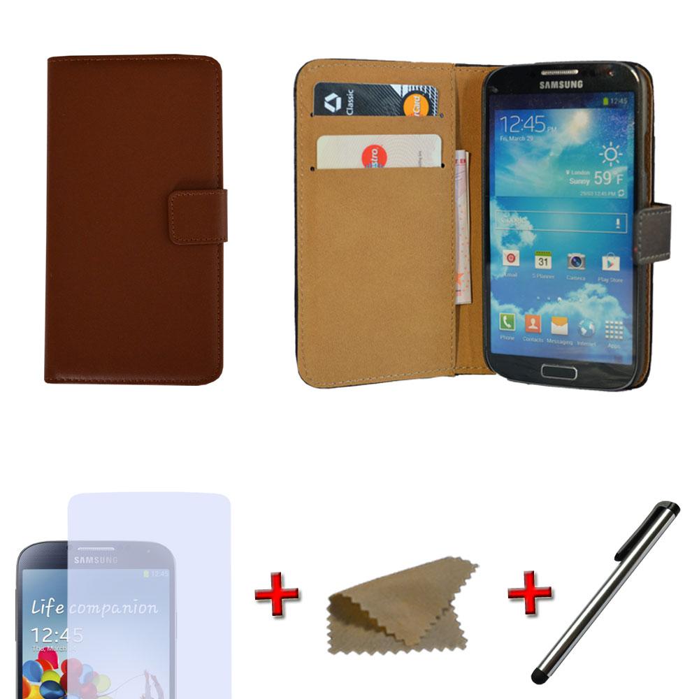 brieftasche handy tasche f r samsung wallet flip case. Black Bedroom Furniture Sets. Home Design Ideas