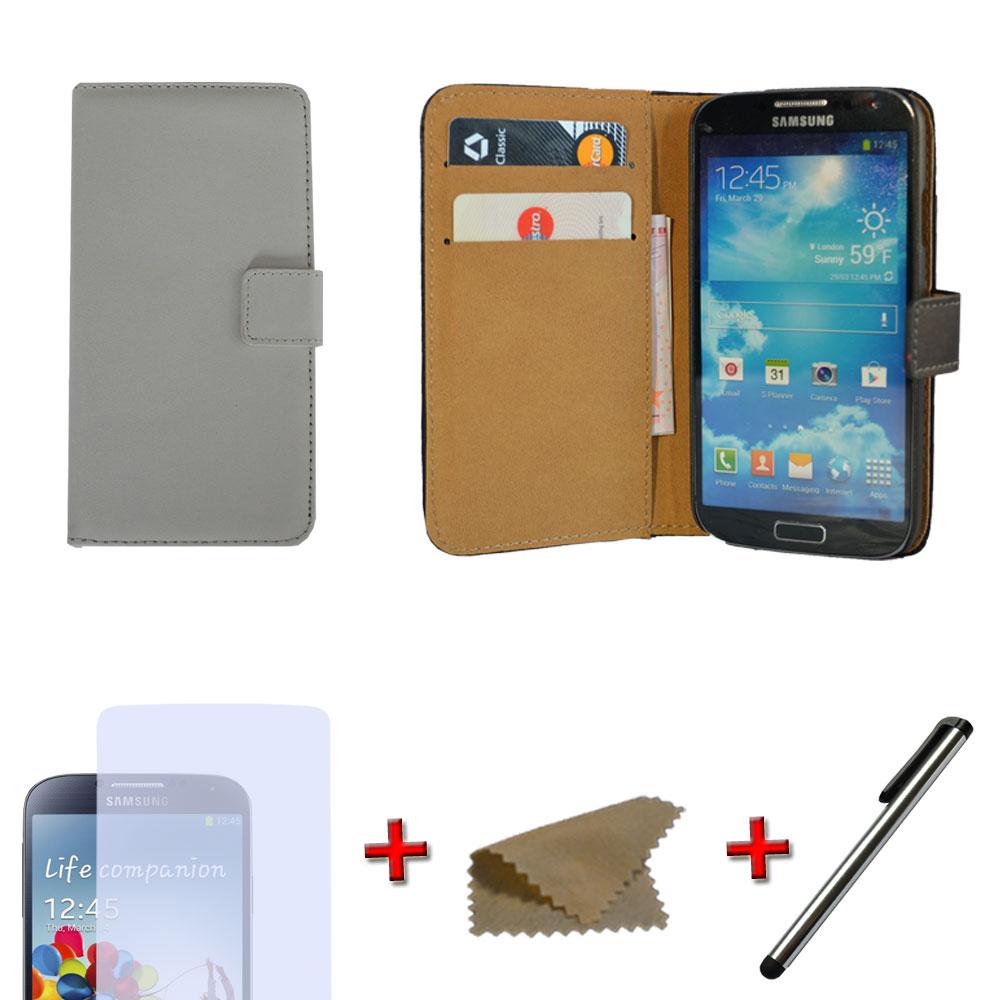 Brieftasche-Handy-Tasche-fuer-Samsung-Wallet-Flip-Case-Schutz-Huelle-Cover-Etui
